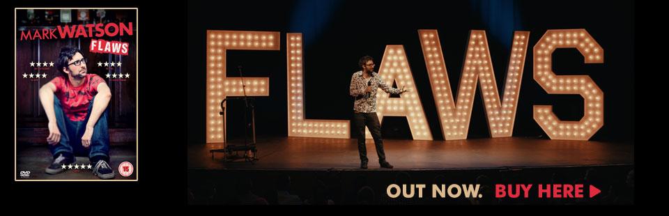 Mark Watson Flaws DVD